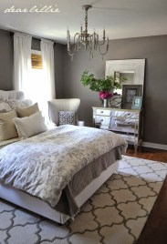 Modern Small Master Bedroom On A Budget 04
