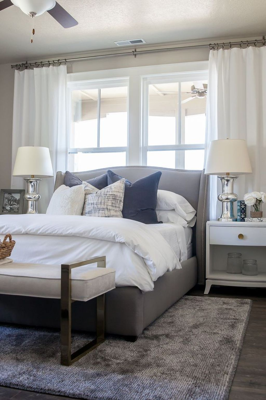 Modern Small Master Bedroom On A Budget 29