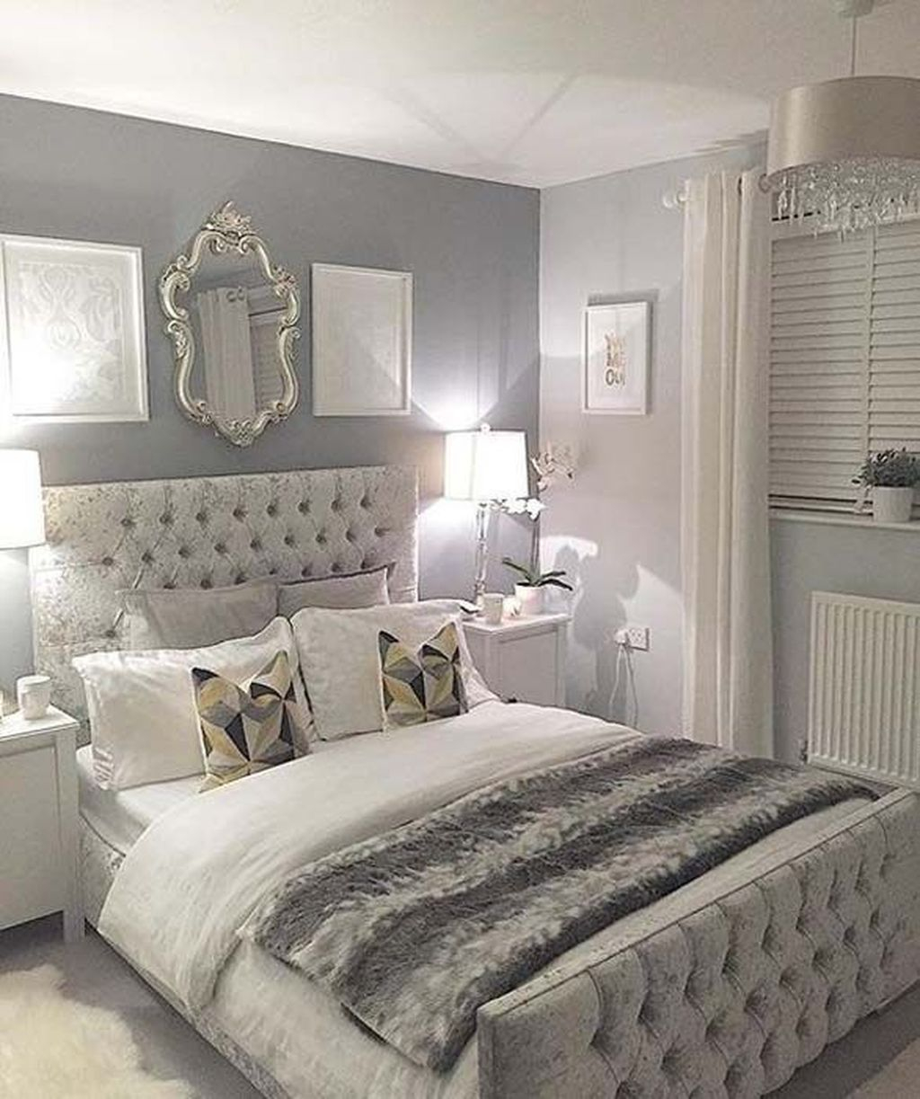 Modern Small Master Bedroom On A Budget 37