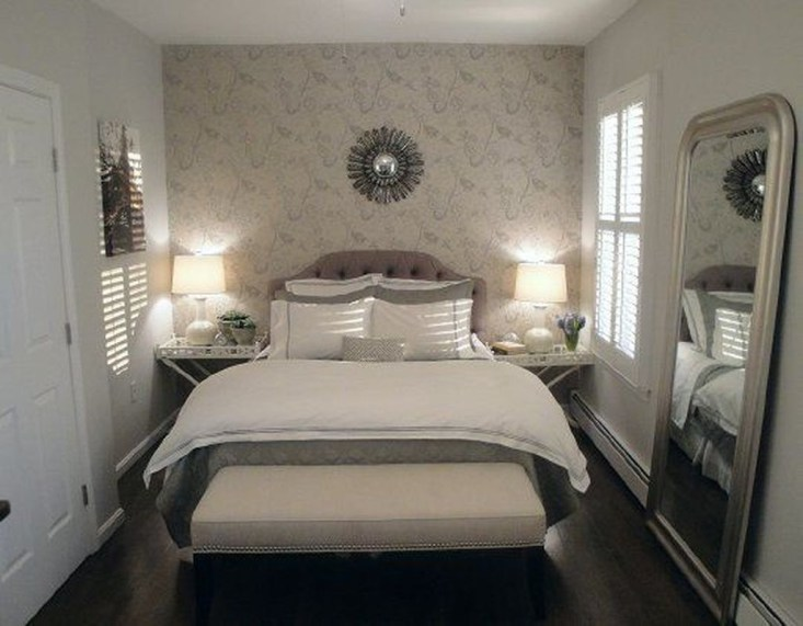 Modern Small Master Bedroom On A Budget 42