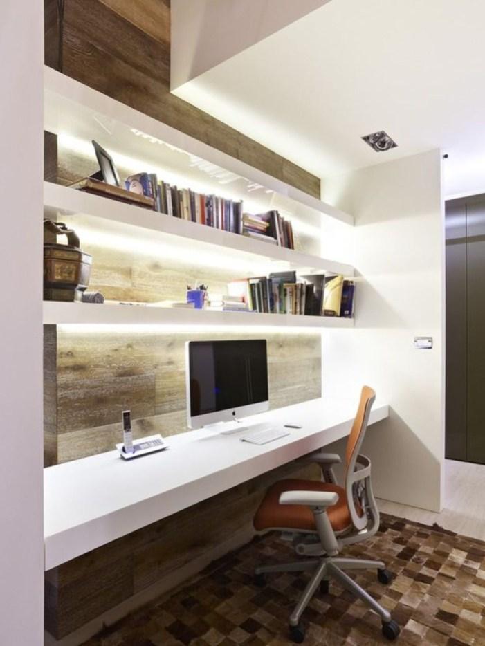 Perfect Contemporary Home Office Design Ideas 17