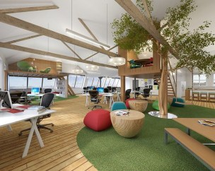 Perfect Contemporary Home Office Design Ideas 26