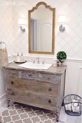 Stunning Rustic Farmhouse Bathroom Design Ideas 17