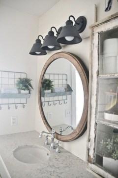 Stunning Rustic Farmhouse Bathroom Design Ideas 40