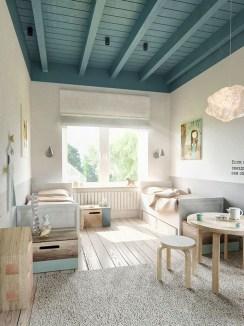 Unique Scandinavian Kids Bedroom Design To Make Your Daughter Happy 19