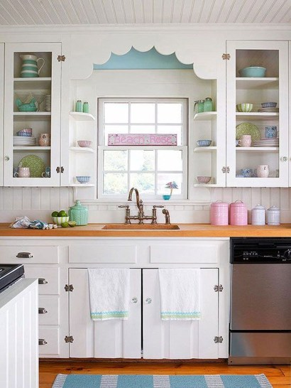 Beautiful Cottage Kitchen Design Ideas 52