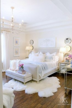 53 Beautiful White Bedroom Decoration That Will Inspire You ...