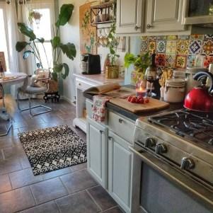 Classy Bohemian Style Kitchen Design Ideas 22