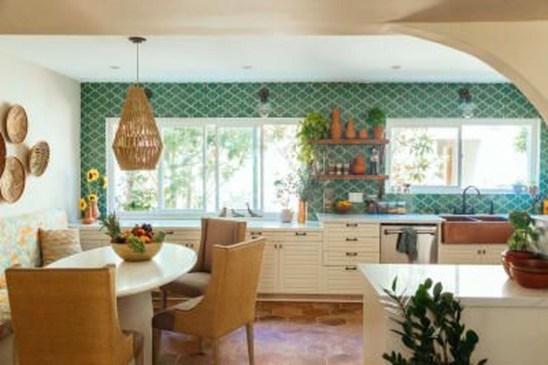 Classy Bohemian Style Kitchen Design Ideas 24
