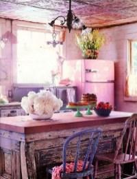 Classy Bohemian Style Kitchen Design Ideas 28