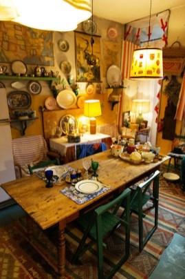 Classy Bohemian Style Kitchen Design Ideas 33