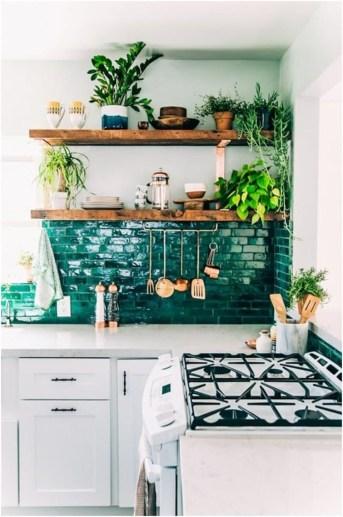 Classy Bohemian Style Kitchen Design Ideas 45