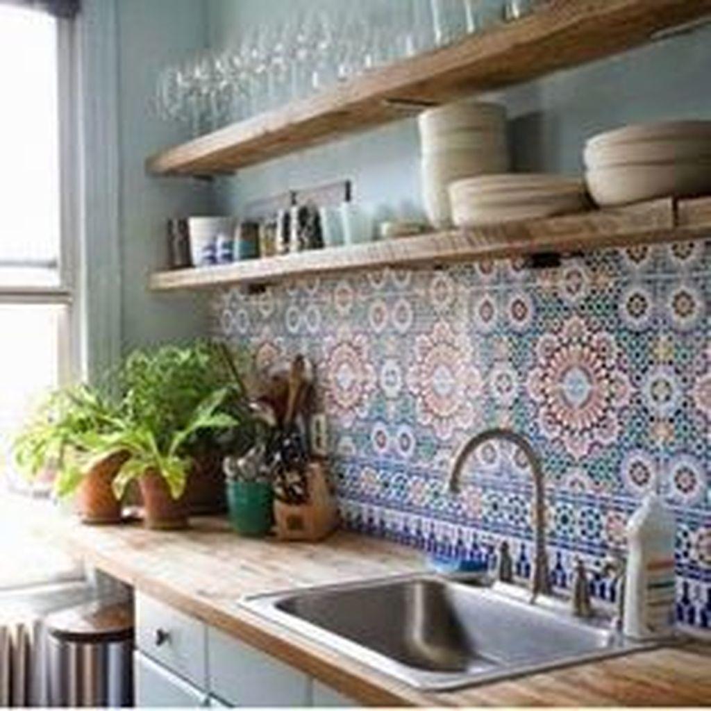 Super 54 Classy Bohemian Style Kitchen Design Ideas Homystyle Beutiful Home Inspiration Aditmahrainfo