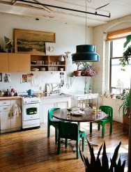 Classy Bohemian Style Kitchen Design Ideas 52
