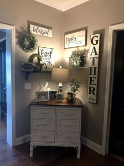 Cool Diy Farmhouse Home Decoration Ideas 28