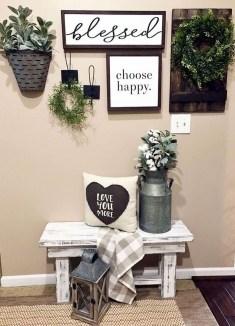 Cool Diy Farmhouse Home Decoration Ideas 30