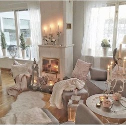 Cozy And Relaxing Living Room Design Ideas 13