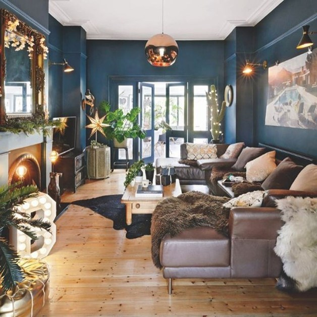 Cozy And Relaxing Living Room Design Ideas 40