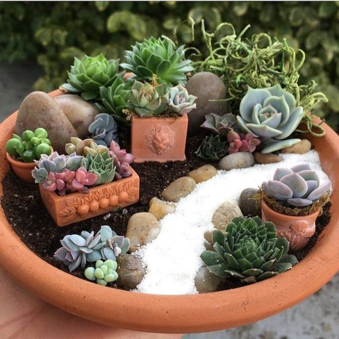 Cute Fairy Garden Design Ideas 09