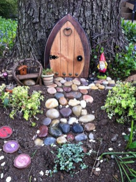 Cute Fairy Garden Design Ideas 20