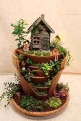 Cute Fairy Garden Design Ideas 25