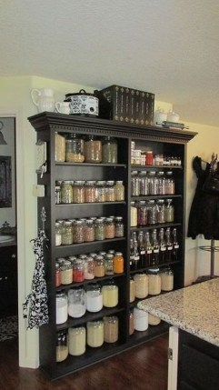 Easy DIY Kitchen Storage Ideas For Your Kitchen 24