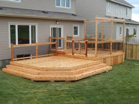 Easy DIY Wooden Deck Design For Your Home 02
