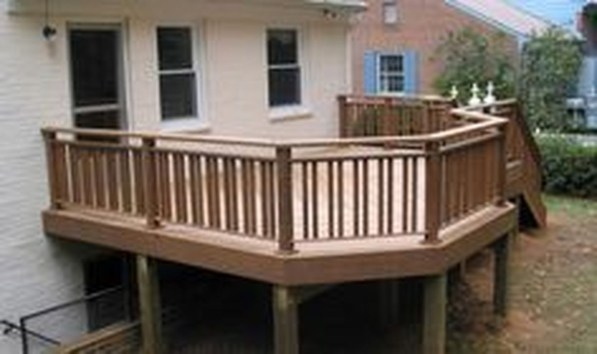 Easy DIY Wooden Deck Design For Your Home 15