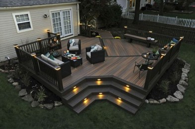 Easy DIY Wooden Deck Design For Your Home 30