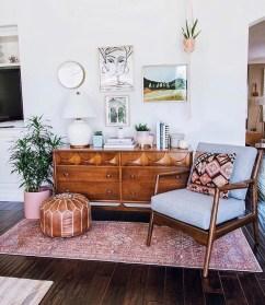 Elegant Bohemian Style Living Room Decoration Ideas 21