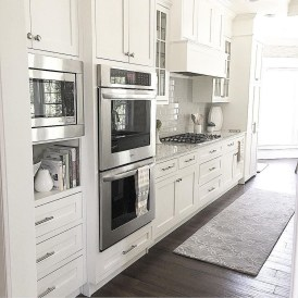 Elegant White Kitchen Cabinets For Your Kitchen 28