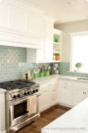 Elegant White Kitchen Cabinets For Your Kitchen 32