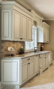 Elegant White Kitchen Cabinets For Your Kitchen 34