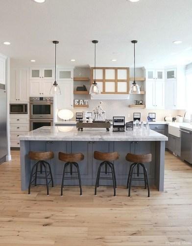 Elegant White Kitchen Cabinets For Your Kitchen 40