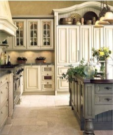 Fancy French Country Kitchen Design Ideas 03