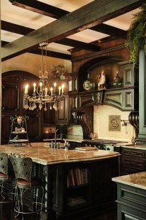 Fancy French Country Kitchen Design Ideas 10