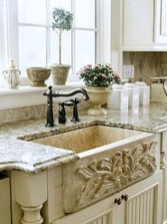 Fancy French Country Kitchen Design Ideas 22