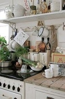 Fancy French Country Kitchen Design Ideas 45