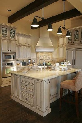 Fancy French Country Kitchen Design Ideas 50