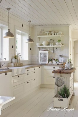 Fancy French Country Kitchen Design Ideas 52