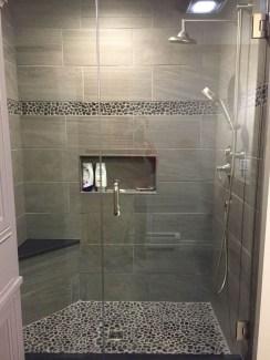 Luxurious Tile Shower Design Ideas For Your Bathroom 05