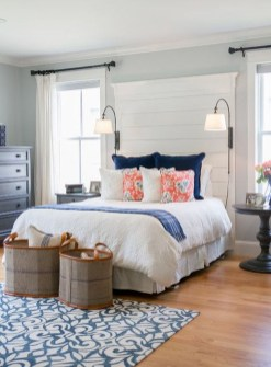 Modern Colorful Bedroom Design Ideas For Your Daughter 21
