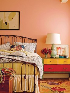 Modern Colorful Bedroom Design Ideas For Your Daughter 28