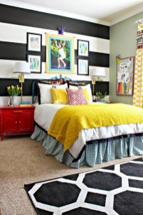 Modern Colorful Bedroom Design Ideas For Your Daughter 40