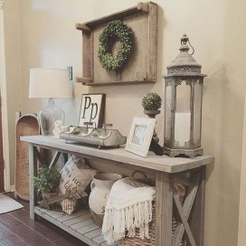 Modern Farmhouse Living Room Design Ideas 01