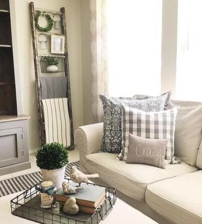 Modern Farmhouse Living Room Design Ideas 07