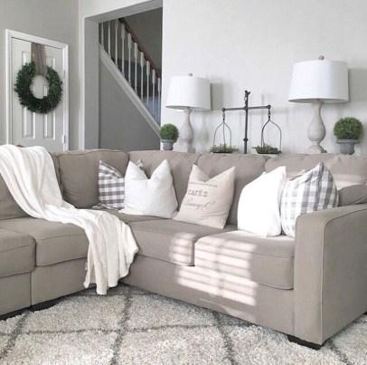 Modern Farmhouse Living Room Design Ideas 22