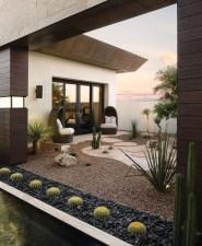 Relaxing Modern Rock Garden Ideas To Make Your Backyard Beautiful 15