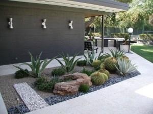 Relaxing Modern Rock Garden Ideas To Make Your Backyard Beautiful 17
