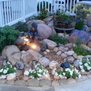 Relaxing Modern Rock Garden Ideas To Make Your Backyard Beautiful 21